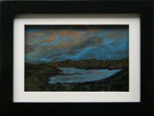 Banks Pensiular - Akaroa - Canvas in a Box Frame